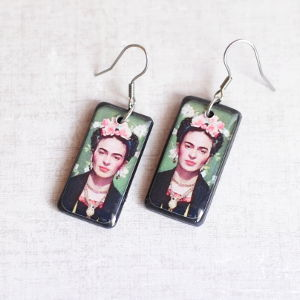 Earrings Frida Kahlo