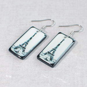 Earrings Eiffel Tower 1