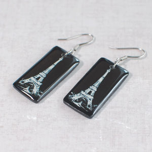Earrings Eiffel Tower 2