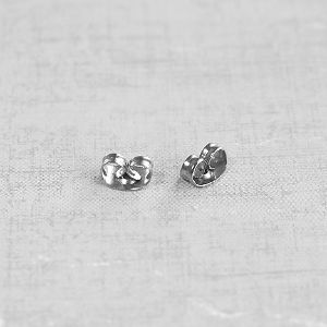 Ear nuts 6x4,5 mm steel 304, 10 pairs