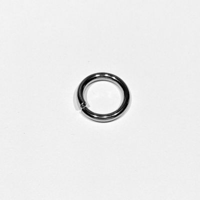 Split ring 14x2 mm steel 304, 1 pcs