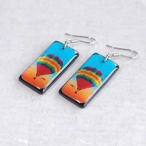 Earrings Hot Air Balloon
