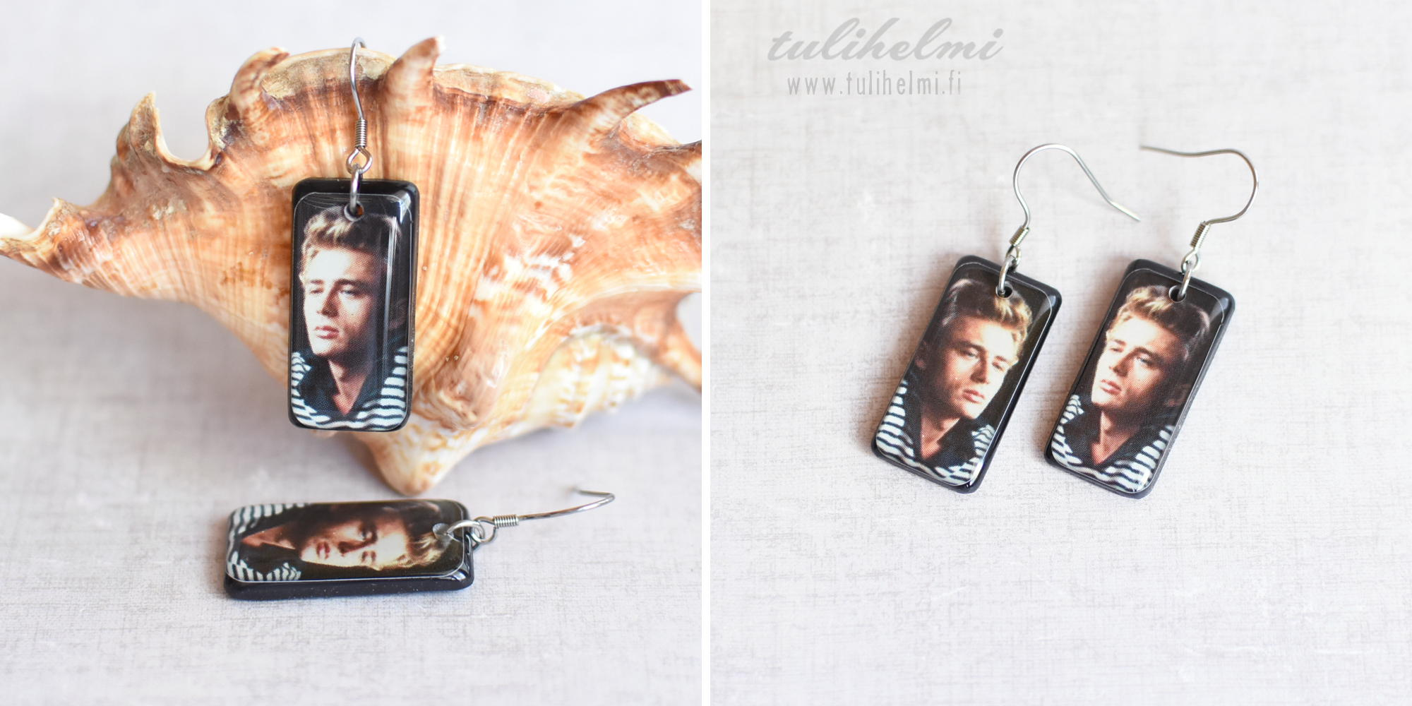 Earrings James Dean 2